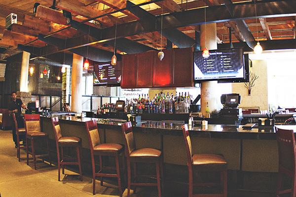 Lucas Park Grille bar area