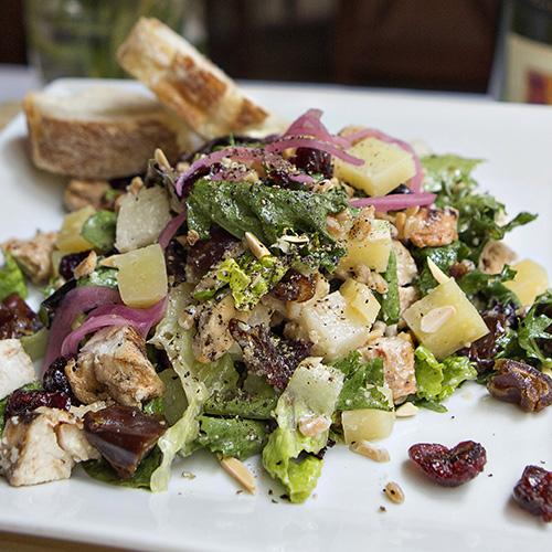 Salad entree Lucas Park Grille